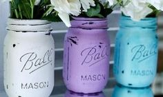 These painted and distressed mason jars look amazing as vases – and this DIY is up there with the easiest of them! You only need three things – acrylic paint, water resistant enamel and a nail file – yes, that is it folks! Oh and of course some mason jars, if you don't [...]