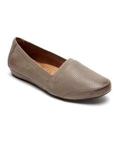 Gray Galway Perforated Gigi Loafer