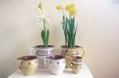 yellow house ideas: Pottery from Trstená