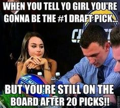 Her face is priceless! Funny Nfl, Funny Football, Johnny Manziel, Football Fever, Nfl Memes, Sports Humor, I Laughed, Lol, Entertaining