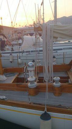 Sangermani yacht - sunset
