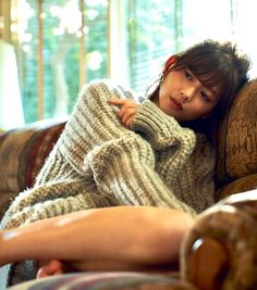 Japanese Girl, Pretty Girls, Pin Up, Turtle Neck, Asian, Poses, Cool Stuff, Knitting, My Love