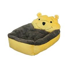 Winnie the Pooh Pet Mat Bed DogCat Washable Kennel Soft Lovely Puppy Size L -- Click image to review more details.
