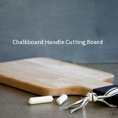 """Taking a plain but functional object like this cutting board and upgrading or personalizing it makes for a great gift."""