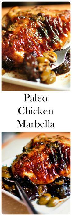Chicken Marbella (Pa