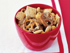 Cereal Mix with Olive Oil and Parmesan