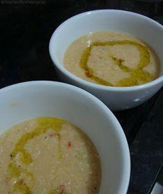 sopa grao de bico e frango