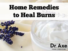 Burns can destroy all layers of skin and even damage muscles and underlying fat. These Home Remedies for Burn Relief can help with wound healing and pain. Natural Remedies For Rosacea, Skin Care Remedies, Natural Cures, Health Remedies, Natural Skin, Natural Healing, Essential Oil For Burns, Essential Oils, Home Remedies For Burns