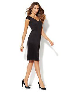 Shop Eva Mendes Collection - Isabella Sheath Dress. Find your perfect size online at the best price at New York & Company.