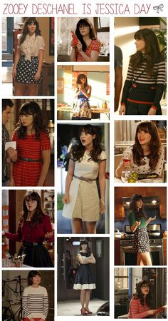 Zoey deschanel, new girl outfits, chic outfits, pretty outfits, jess new . New Girl Outfits, Chic Outfits, Pretty Outfits, Fashion Outfits, Zooey Deschanel Style, Zoey Deschanel, Jessica Day, New Girl Style, Preppy Style