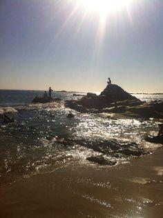 Praia da Poçinha do leão ,caxinas Vila Do Conde ( tirada por mim )