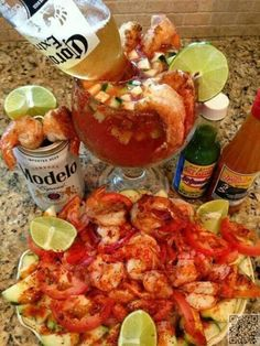 24. #Shrimp Cocktail - 45 #Delicious Mexican Food #Dishes You're Going to Love ... → Food #Photopost