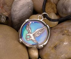 Mood Circle Necklaces - Eagle at theBIGzoo.com, an animal-themed superstore.