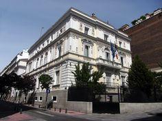 Madrid. Palacio del conde Fuentenueva de Arenzana