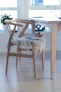 home by linn ...... Chair by Wegner