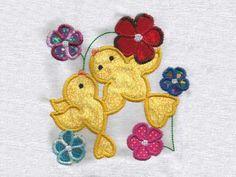 Applique Birds Machine Embroidery Designs  http://www.designsbysick.com/details/appliquebirds