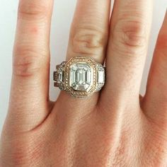 Would you wear this diamond engagement ring from Simon G.? (Custom Style- LP1996)