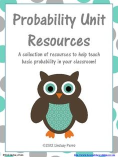 This bundle includes 21 worksheets, activities, quizzes and stations. All focus on basic probability - the probability of no more than two independent or dependent events and making predictions from data. Everything has an answer key.