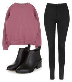 """""""Even though"""" by nikka163 ❤ liked on Polyvore featuring Topshop"""