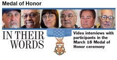 Medal of Honor: In Their Words via Stars and Stripes