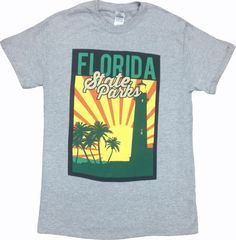 Retro Florida Parks Sunset T-Shirt