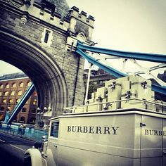 tower bridge. London. Burberry