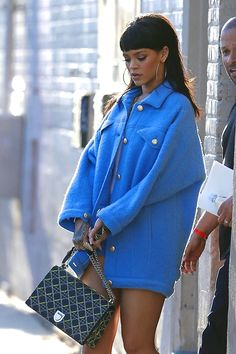 "Rihanna arriving at ""Jimmy Kimmel Show"" in Los Angeles. (1st April 2015)"
