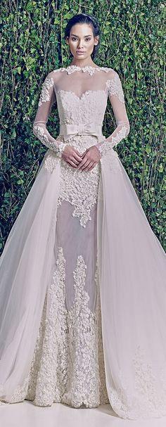 Zuhair Murad Bridal F/W 2014-2015 | See more Zuhair Murad wedding dresses on http://www.xaazablog.com/zuhair-murad-bridal-couture-wedding-dresses/ #weddingdress #weddinggown #bridalcouture #bridal #weddingdeals #weddingspecials