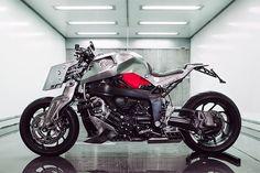 Pan Speed Shop Transforms a BMW Into a Dystopian Motorbike