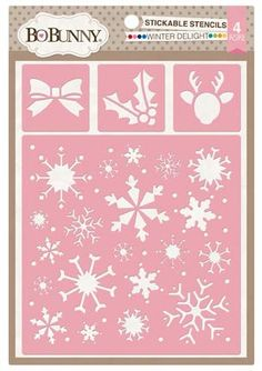 BoBunny 10736165 Winter Delight Stickable by yourscrapbookstash