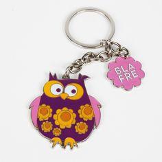 Blafre owl keyring