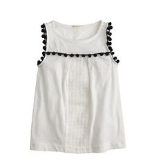 Just what we want this time of year: a pretty sleeveless layering piece that will look—and feel—cool despite the heat.