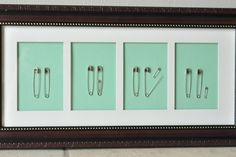 WOW , Great Pictures .. Cutest Homemade Nursery Decor Ever! Would be cute as pregnancy announcement too. gift-ideas