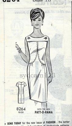 1960 Sheath dress