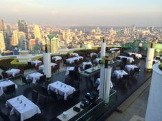 Visiting #Bangkok soon?!! Take a trip up to the Lebua at State Tower's 63rd floor for this view! #Hangover #thailand