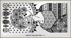 New Stamping Plate Alert:  The Artist Collection from Moyou London  by crazypolishes.com