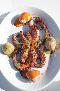 Pulpo de Lanzarote - Grilled Octopus