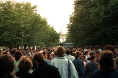 デヴィッド・ボウイ西ベルリン野外コンサート