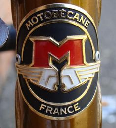 French bicycle badge