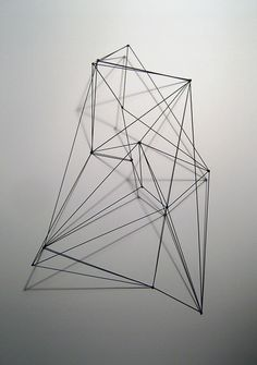 Architectonic Sculpture! Nice shadows and drawing in space
