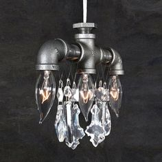 Tribeca 3-Bulb Chandelier, now featured on Fab.