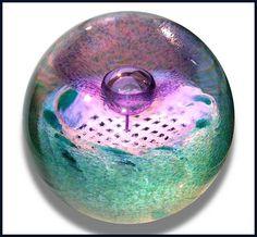 Caithness Glass: Flower of Scotland paperweight