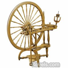 Antique Spinning Wheels | Textile, Clothing & Accessories Price Guide | Antiques & Collectibles Price Guide | Kovels.com