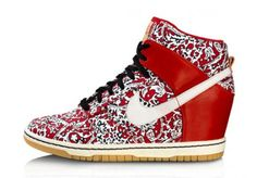 reputable site a8624 f0b4f Must Have Sneakers compensées Dunk Sky High de chez Nike, mode
