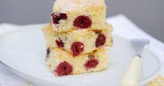 Meggyes piskóta   Nosalty Cake Cookies, Cereal, French Toast, Muffins, Cheesecake, Food And Drink, Favorite Recipes, Sweets, Meals
