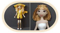 Девушка Пикачу крючком, часть 10 (Волосы). Crochet Pikachu girl, part 10...