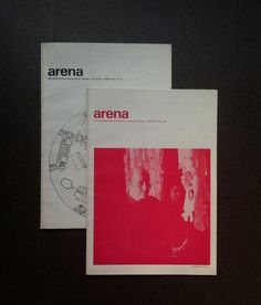 Via @Alicia Duffy Brown : Arena, the Architectural Association's journal in the sixties (1966)