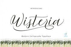 Wisteria Script from FontBundles.net