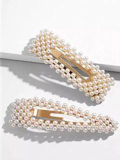 2 x Bauble Diamanté Rhinestones Hair Band Ponytail Elastic Tie Bridal Gift