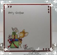 Wild Rose Studio Christmas Card